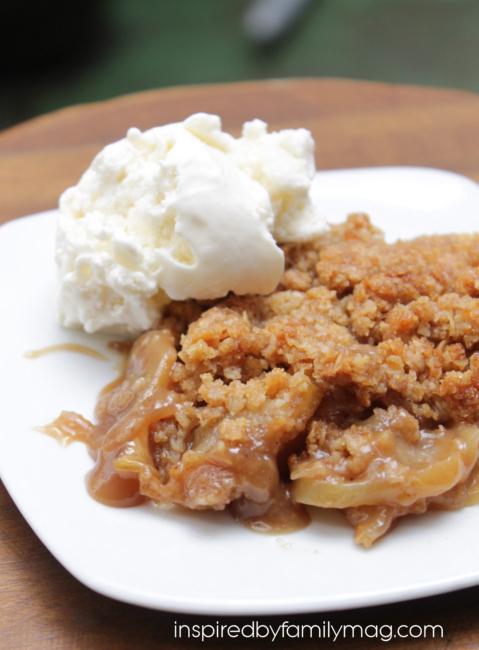 peanut butter dessert peanut butter apple crumble