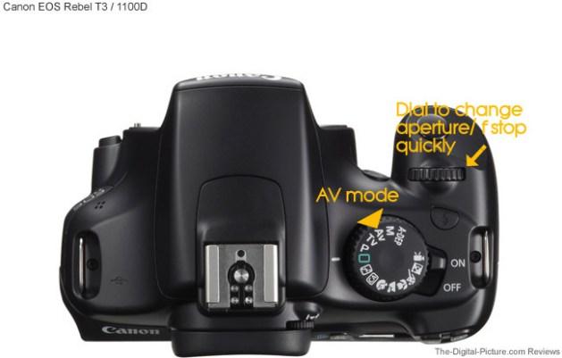 canon dials photo