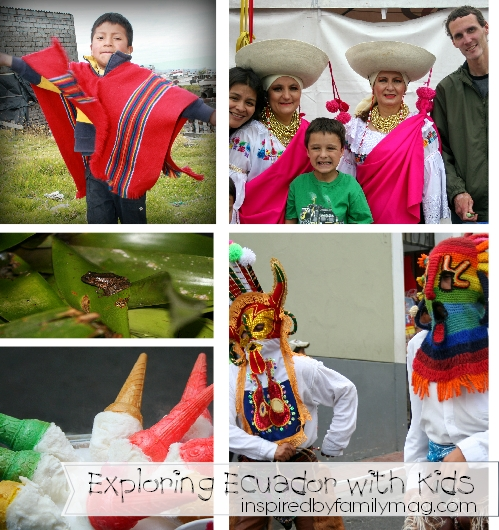 exploring ecuador with kids