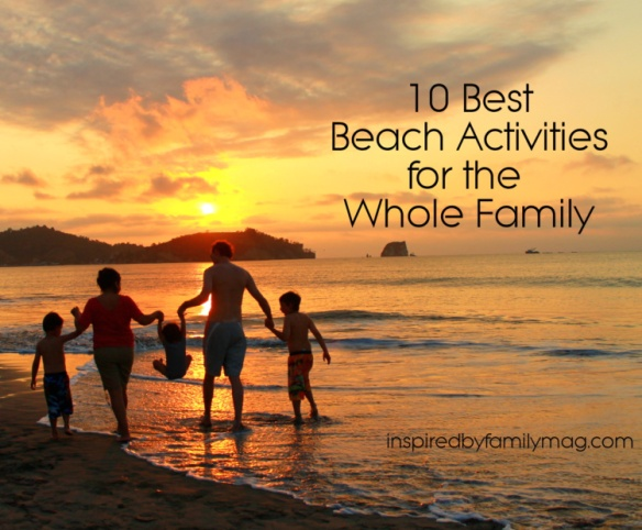 best beach activities for the whole family