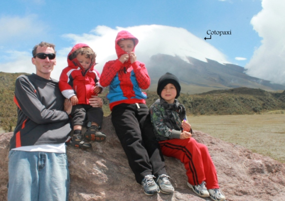 Cotopaxi trip with kids